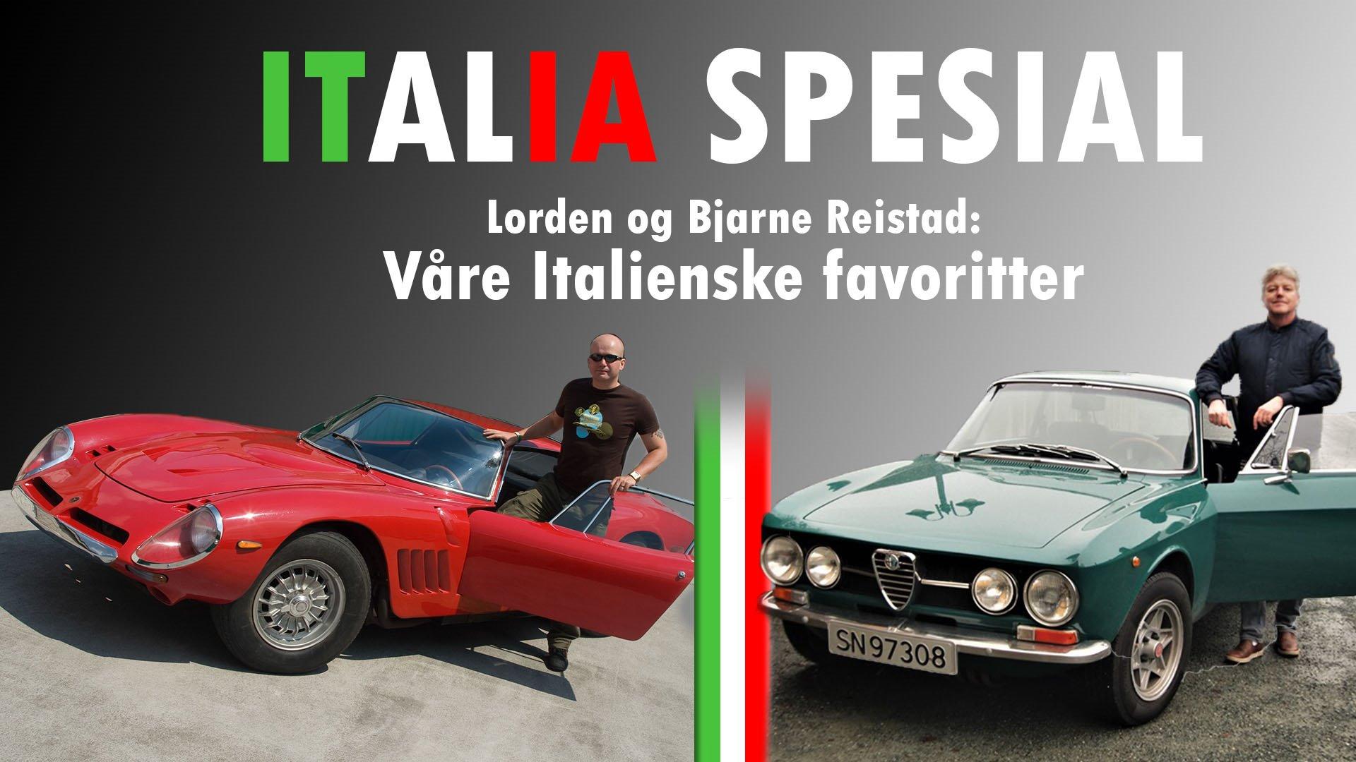 Lordens Garasje: Italia spesial