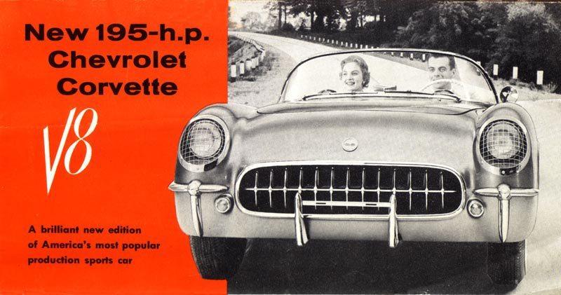 1955 Chevrolet Corvette V8