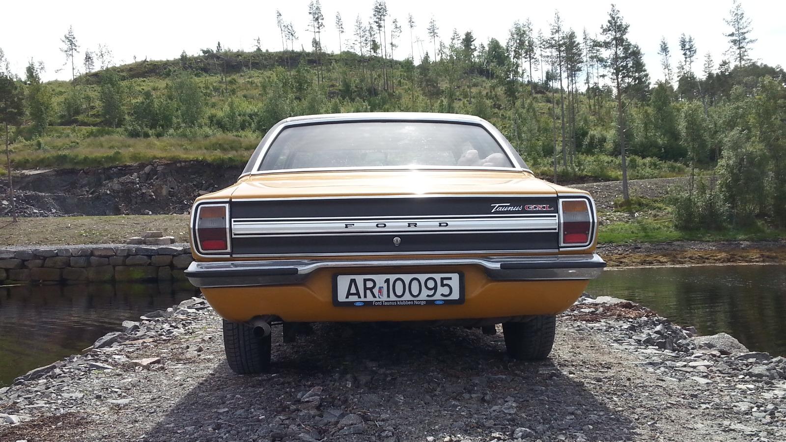 Detaljbilde 1971 Ford Taunus GXL