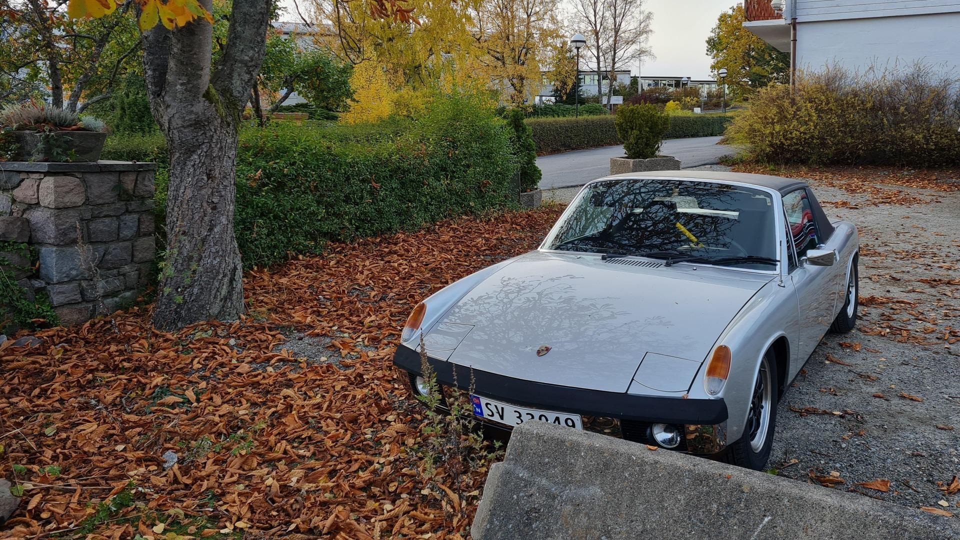Herlig bil i de flotte høstfargene