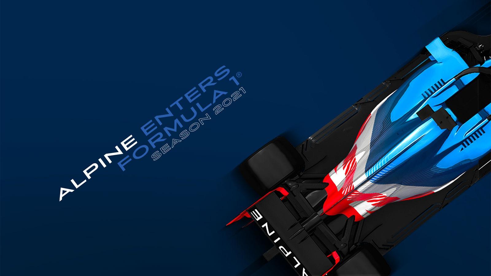Alpine er klar for Formel 1 neste sesong.