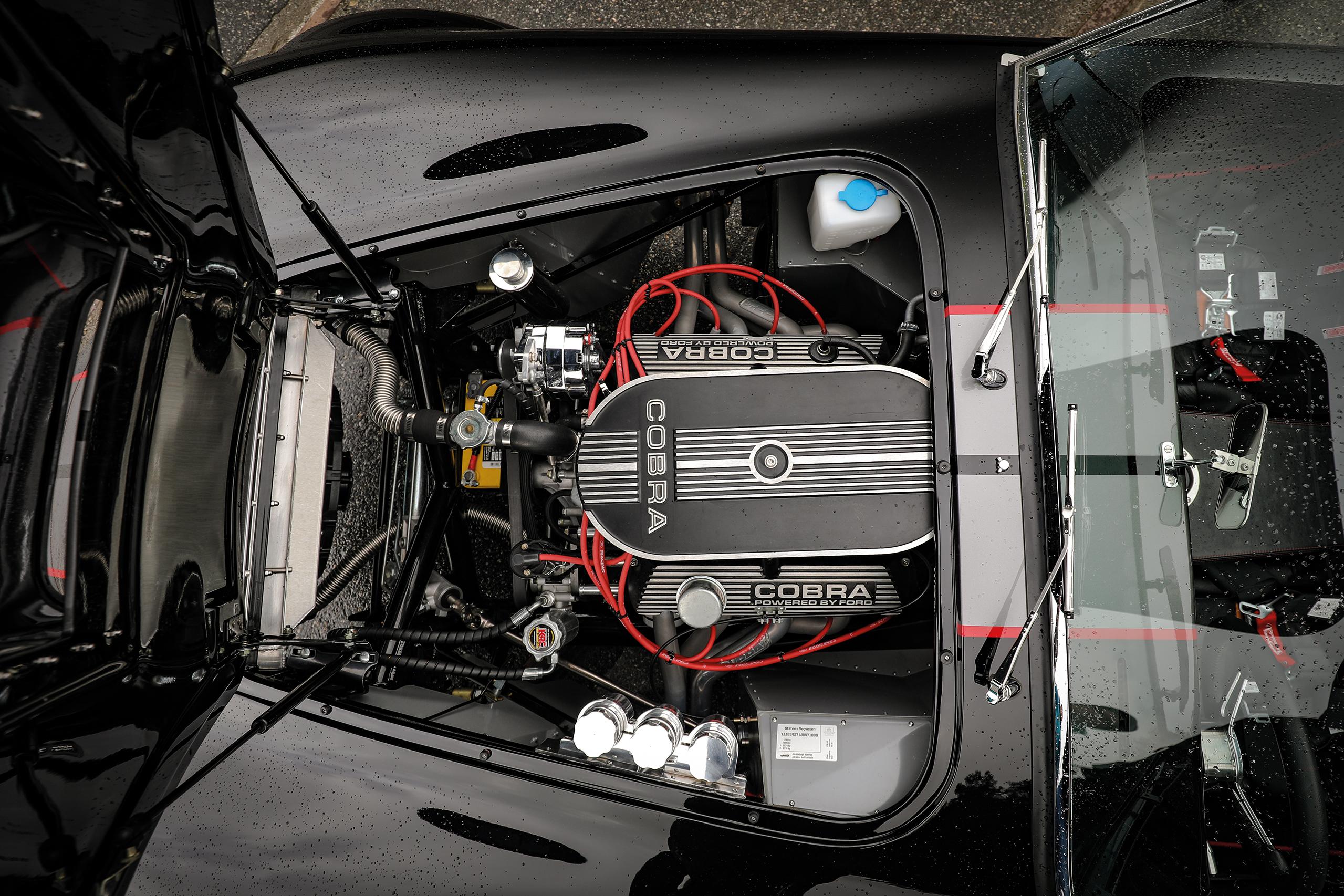 Motor bygget av Mike Forte.