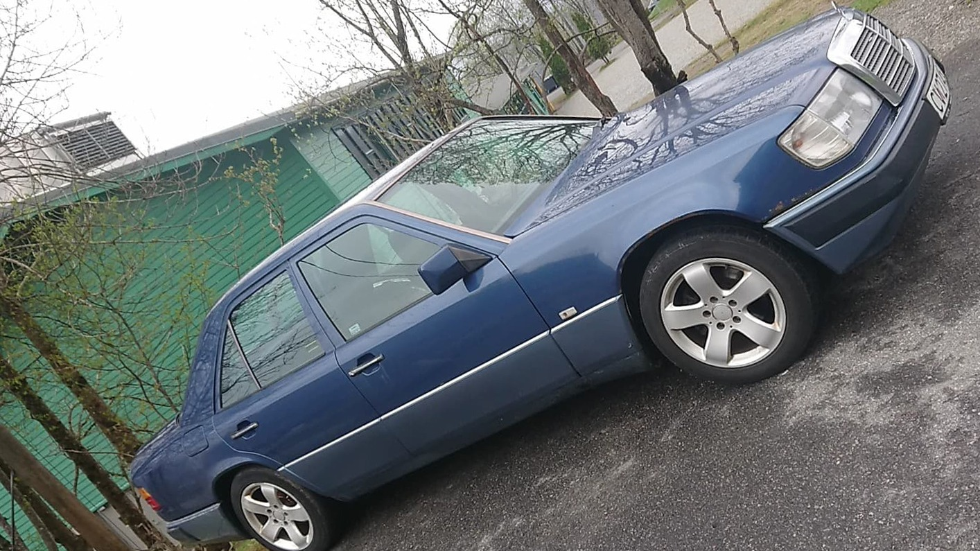 Slik så bilen ut da Mikal kjøpte den.