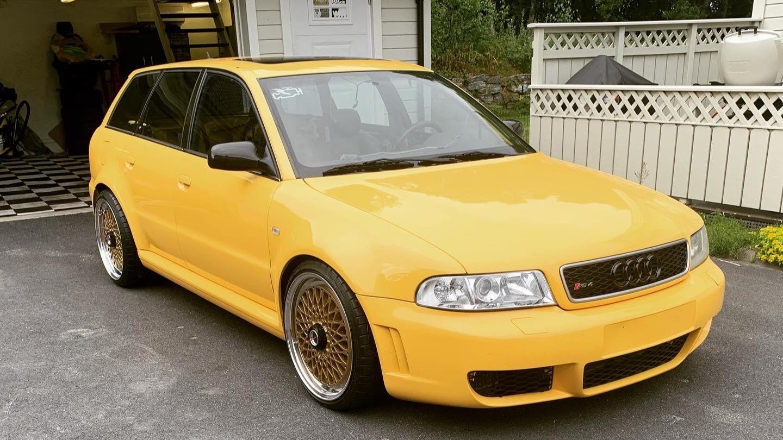Ukas bil – 1998 Audi S4