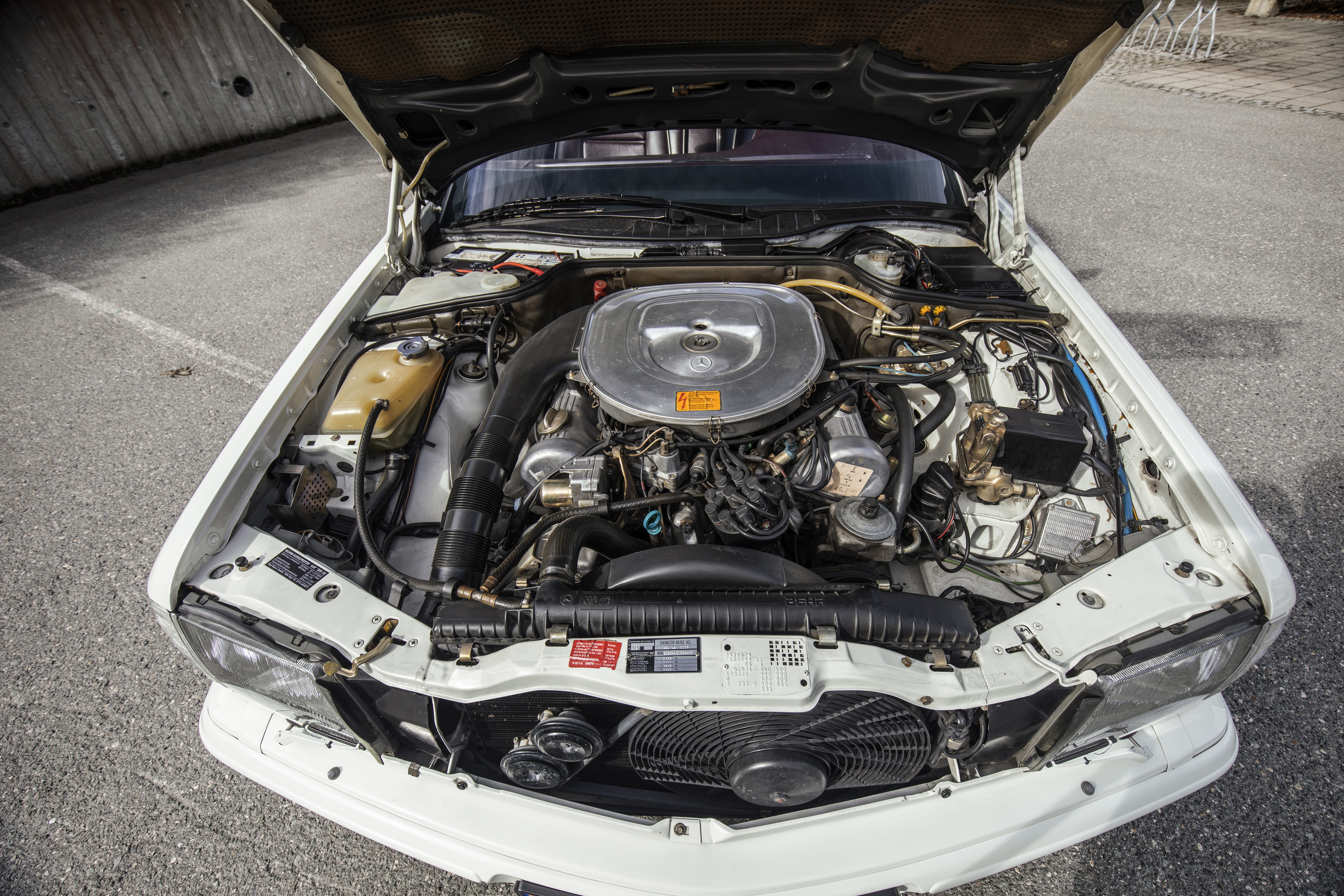 Bilens 5l V8