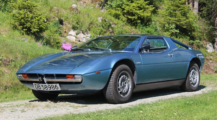 Ukas bil – 1975 Maserati Merak
