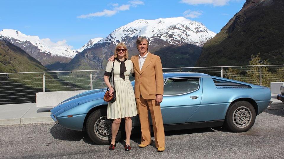 Olav og kona på tur i den italienske perlen!