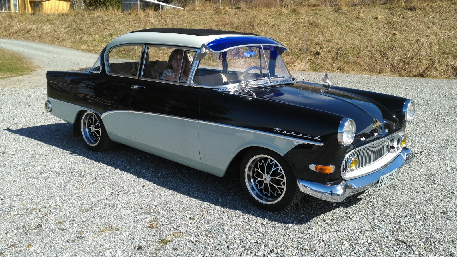 Kjell Runes flotte 1960 Opel Rekord P1.