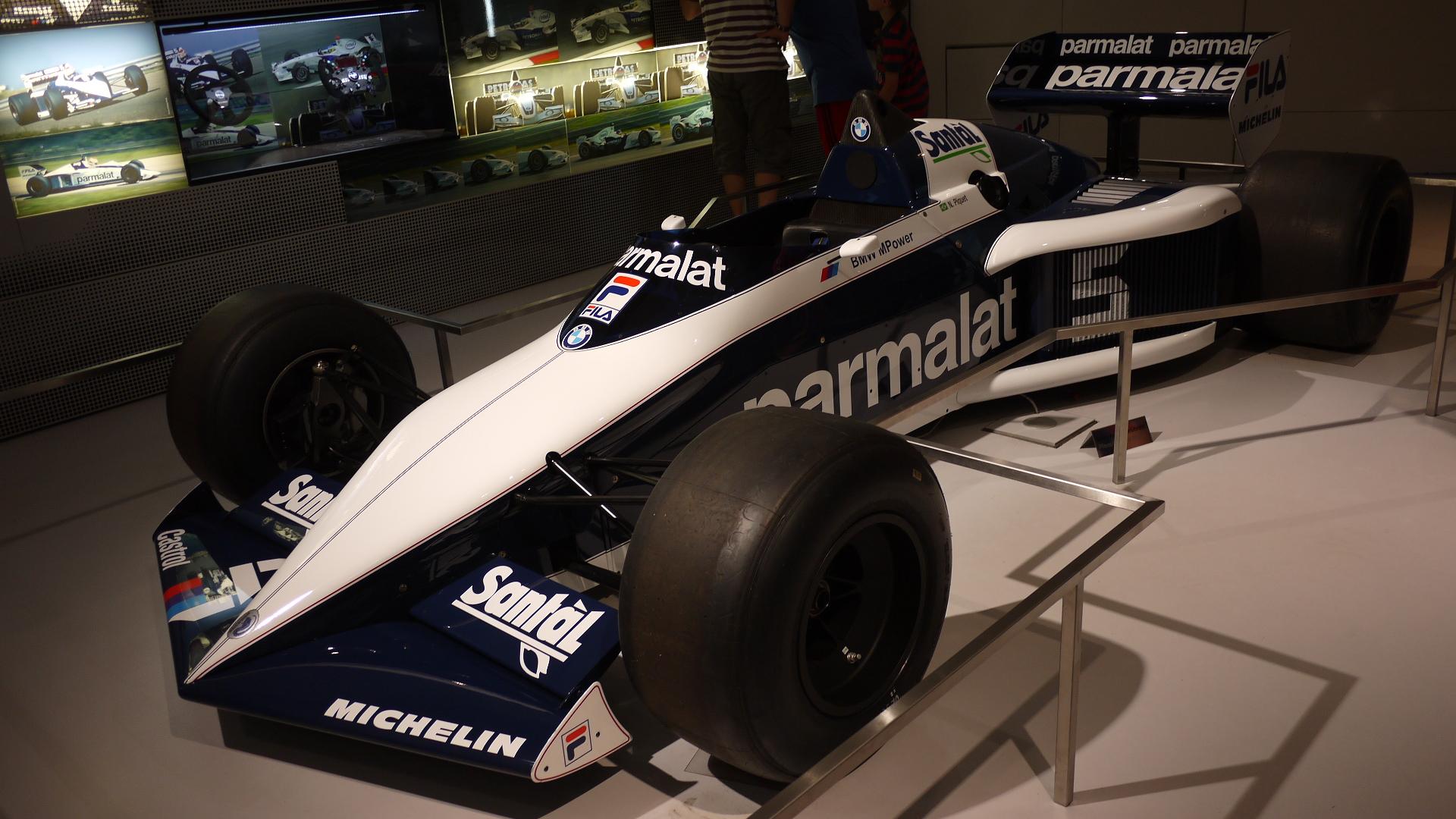 Brabham BT52 på BMW museet.