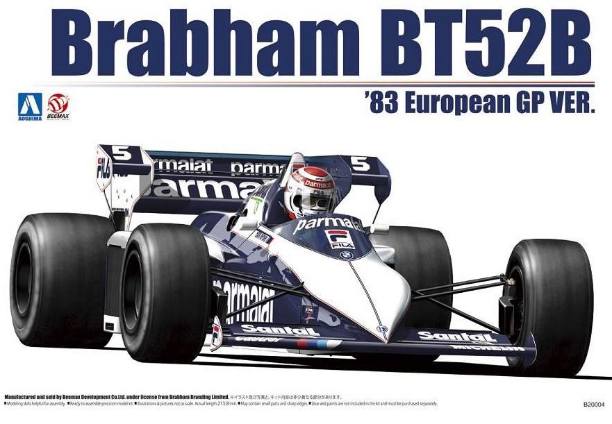 Brabham BT52B byggesett.