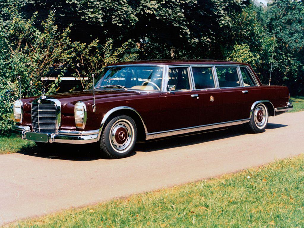 Bilen for konger og presidenter.