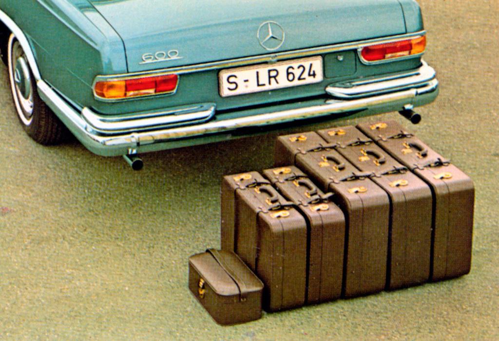 Koffertsett til bilen.