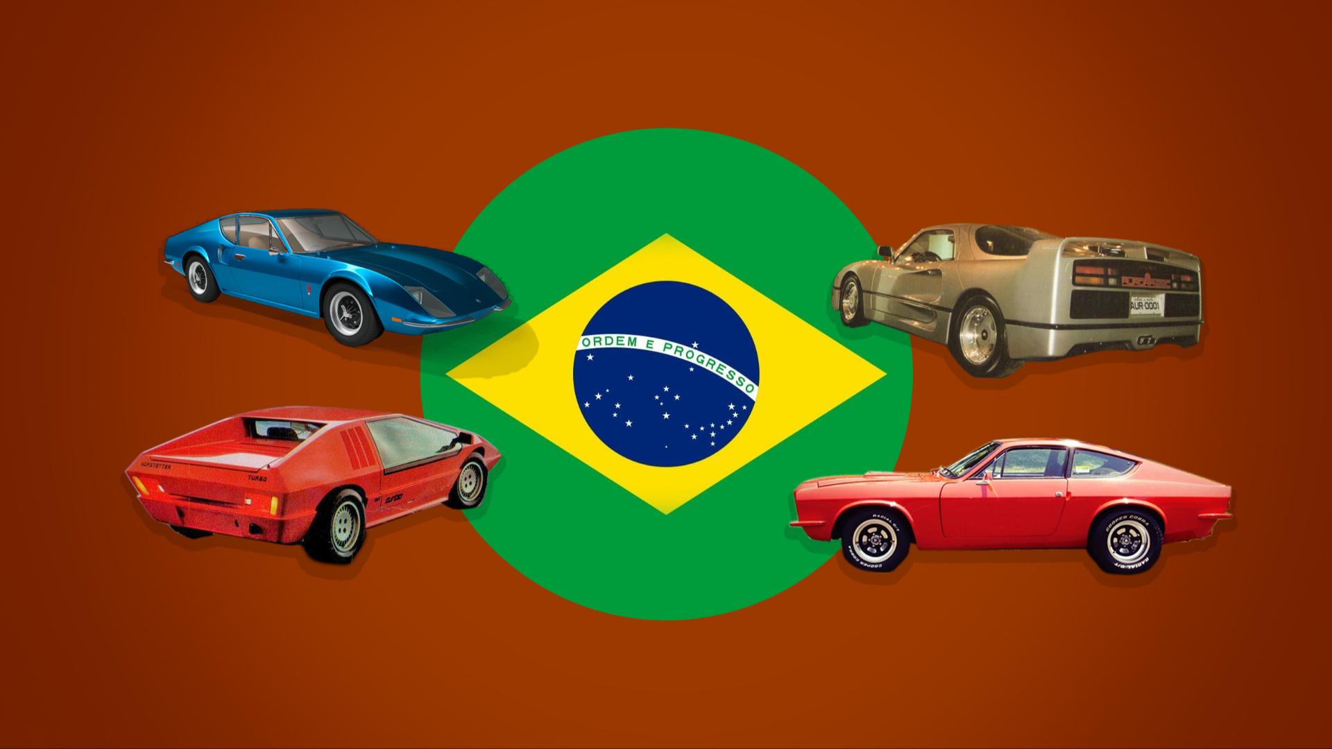 Topp 10 sportsbiler fra Brasil