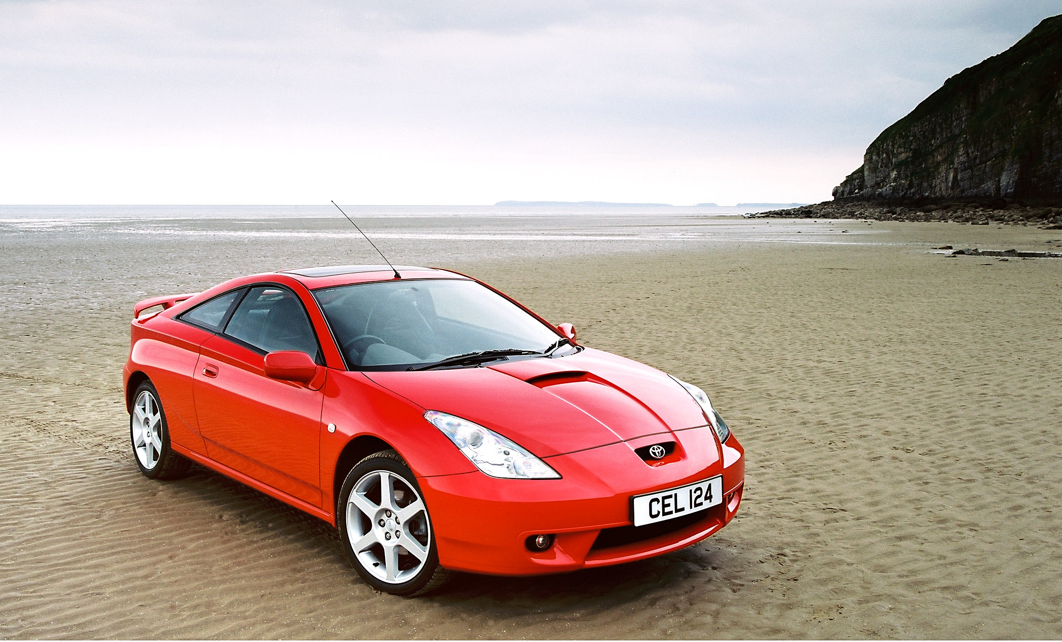 Syvende og siste generasjon Toyota Celica ble produsert mellom 1999 og 2006