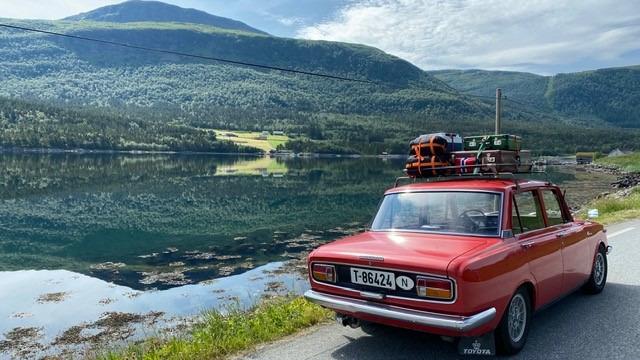 Postkortstemning på norgesferie