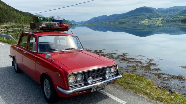 Ukas bil – 1968 Toyota Corona RT40
