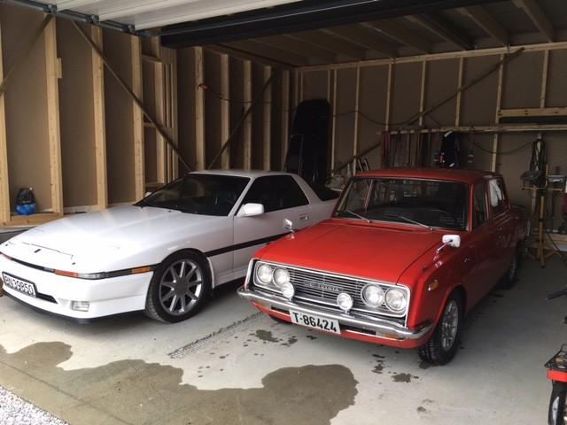 1988 Toyota Supra og 1968 Toyota Corona