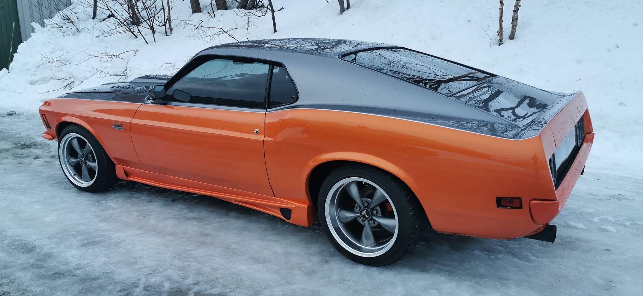 Ukas bil – 1970 Ford Mustang SportsRoof