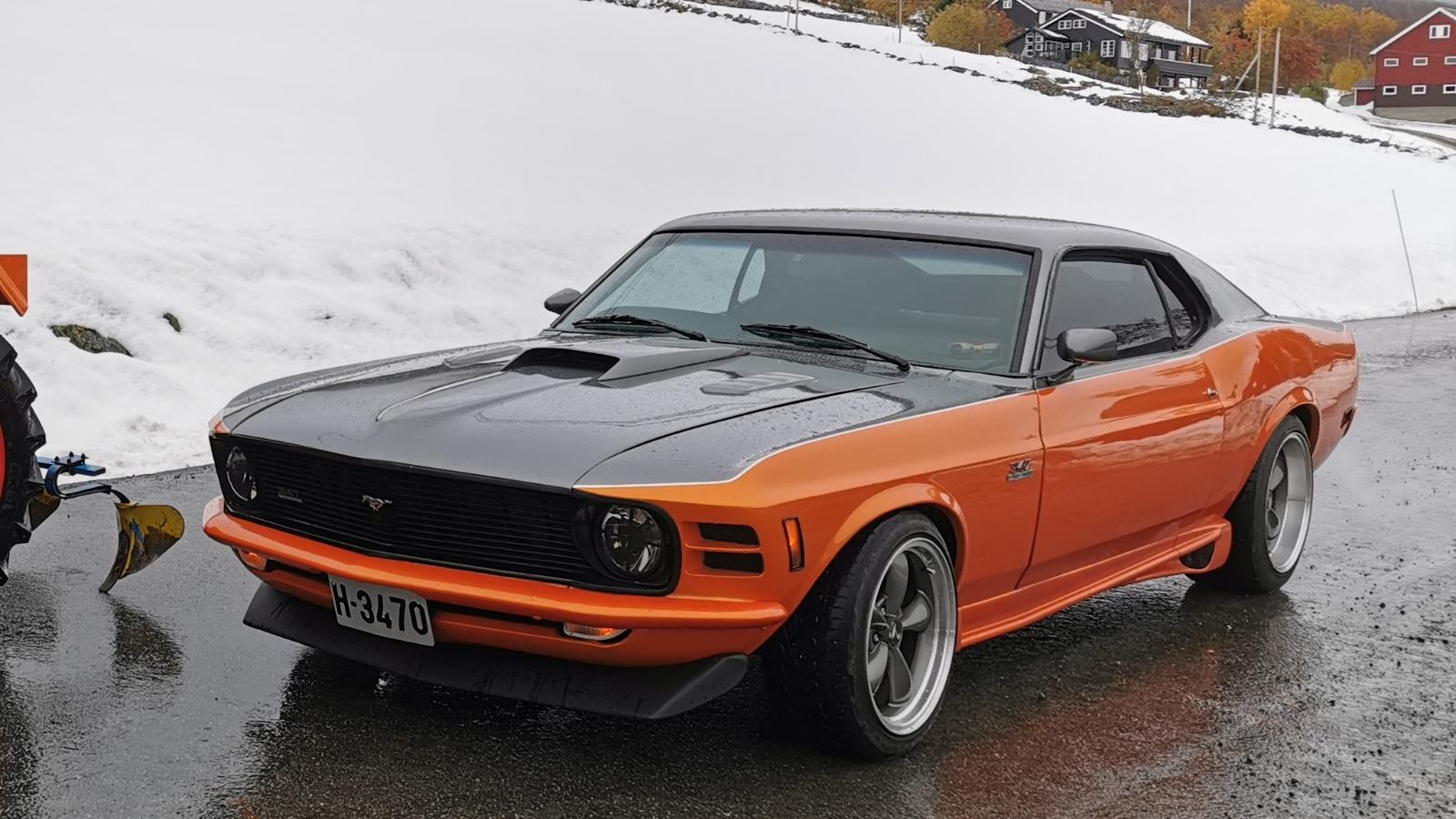 Ukas bil – 1970 Ford Mustang SportsRoof.