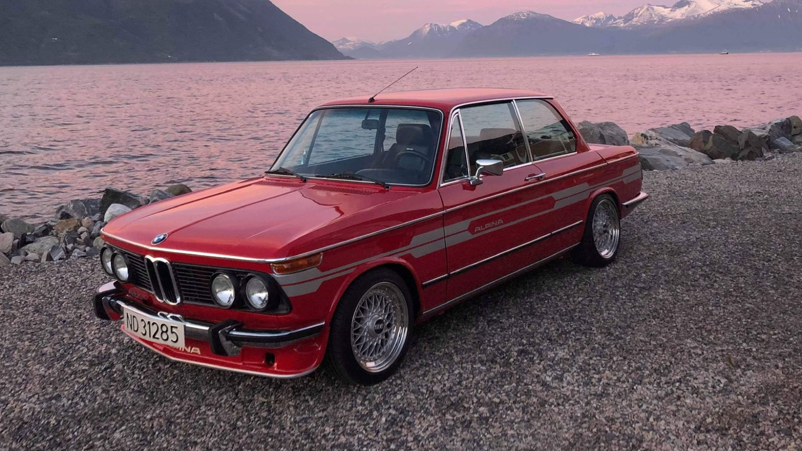 Ukas bil – 1974 BMW 2002 Alpina