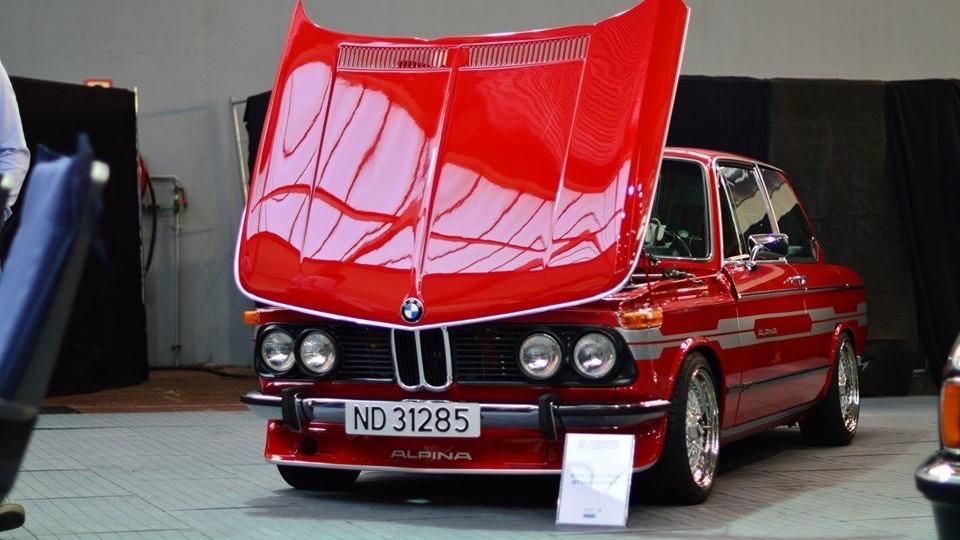 En bil som ikke skjemmer seg bort på utstillinger