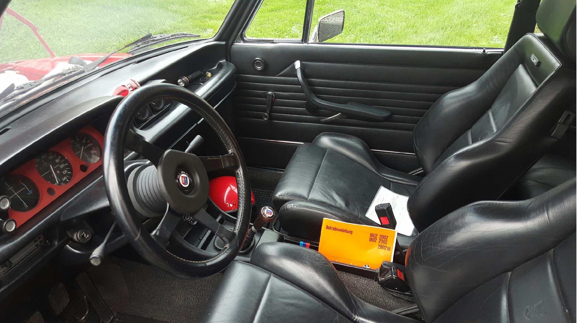 Klassisk BMW interiør