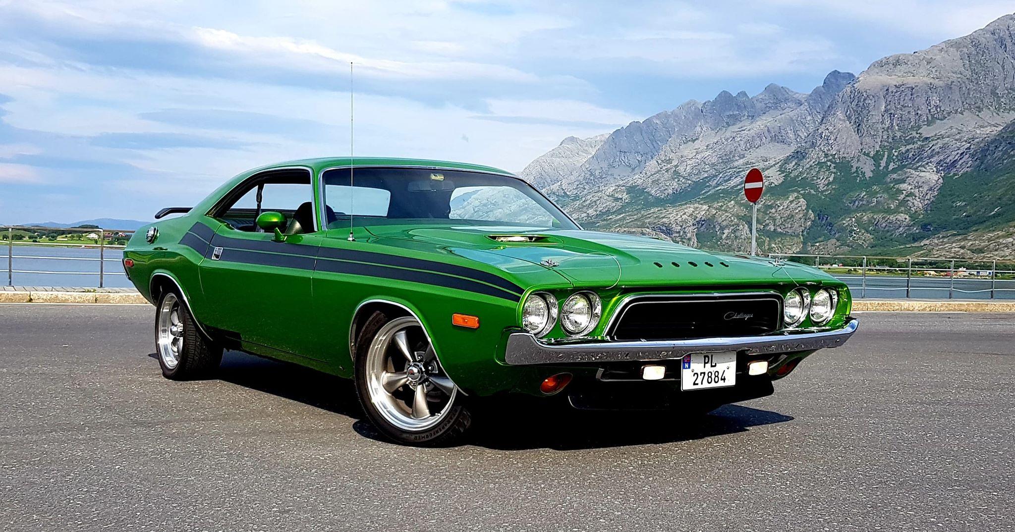 Ukas bil: 1974 Dodge Challenger