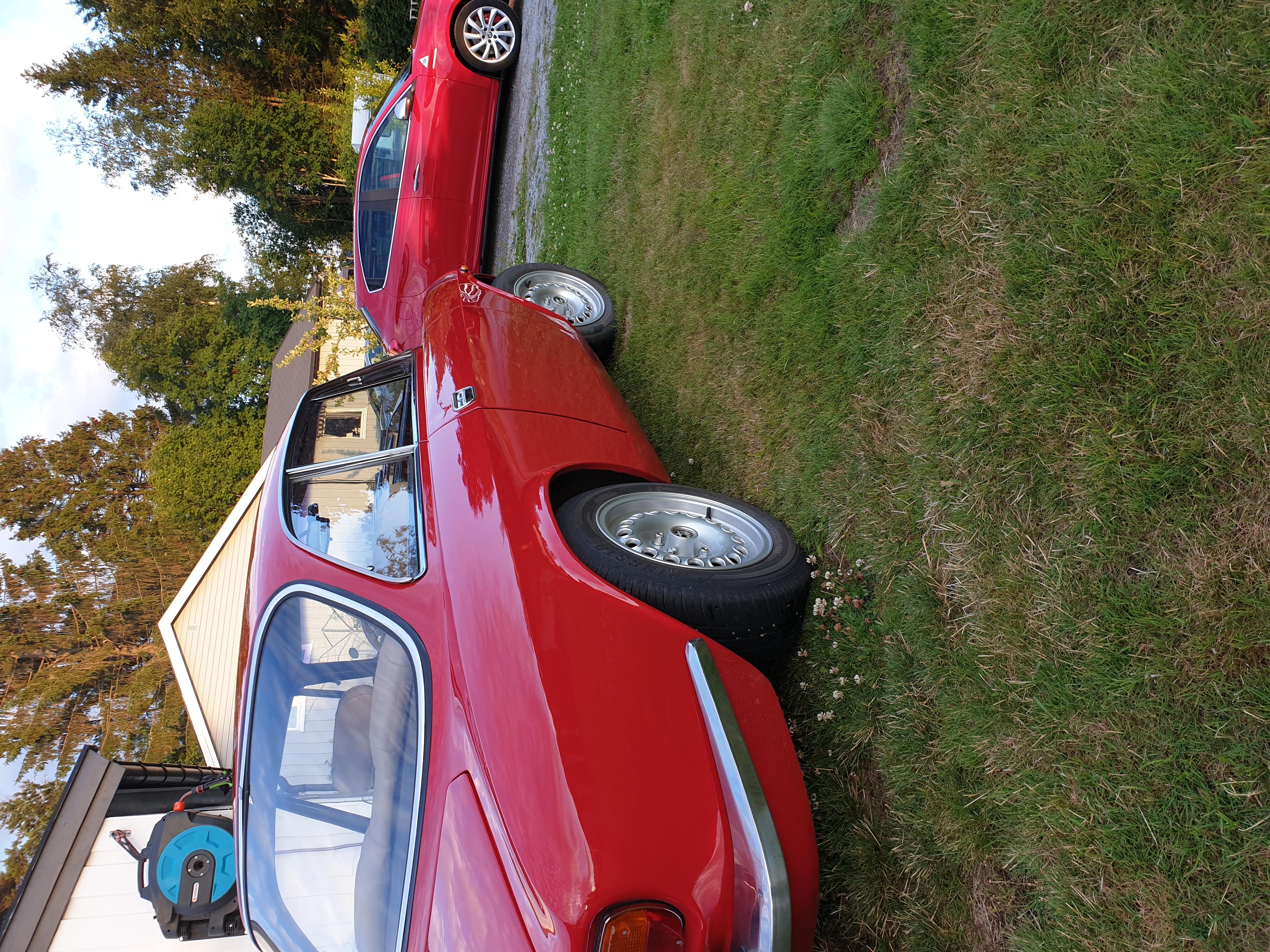 GTVen sammen med konas Alfa Romeo Giulietta QV