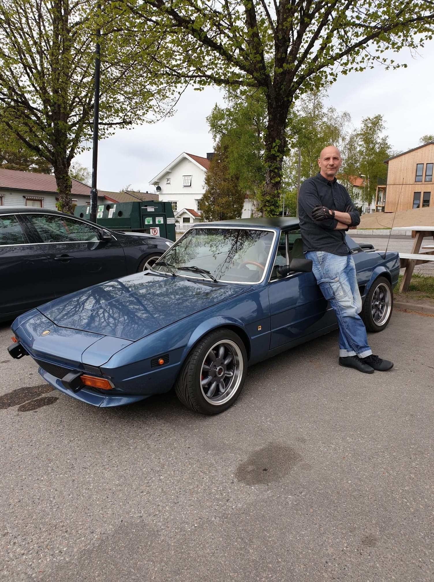 Jens og hans Fiat X1-9