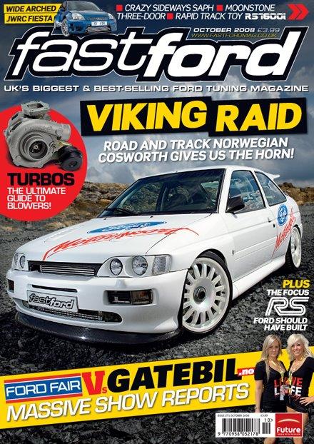 Slik så coveret til Fastford ut, med Jan Henriks Escort prydende på forsiden.