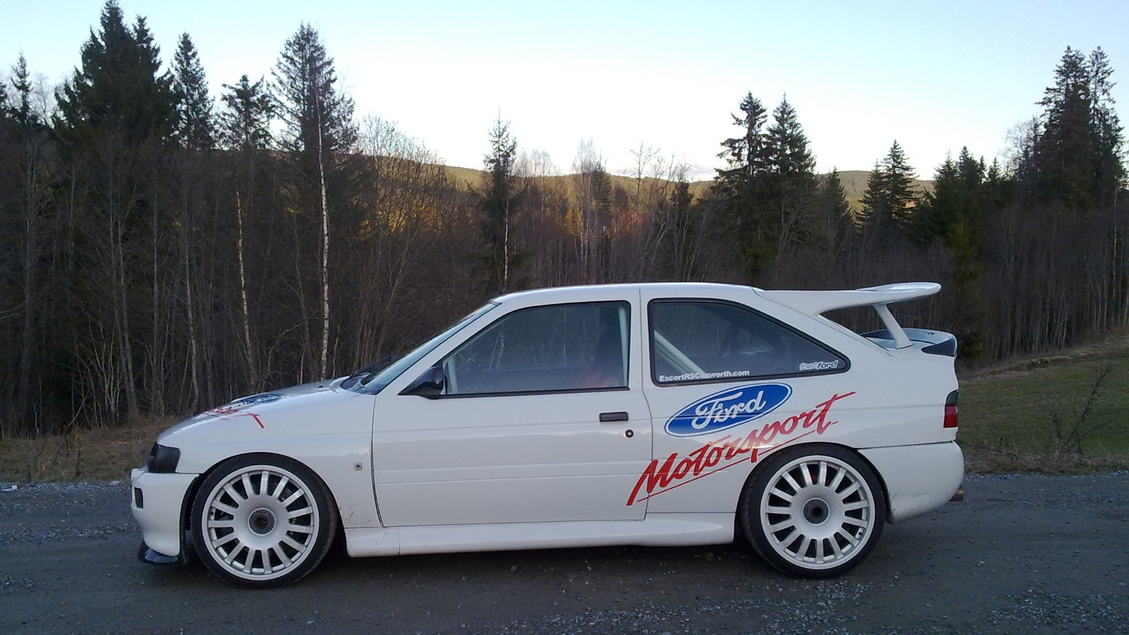 Ukas bil: 1993 Ford Escort RS Cosworth Motorsport