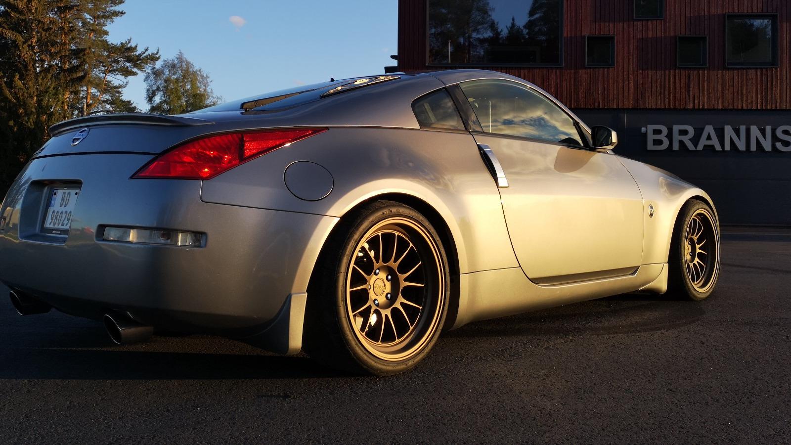 350Z har et design som ikke går ut på dato.