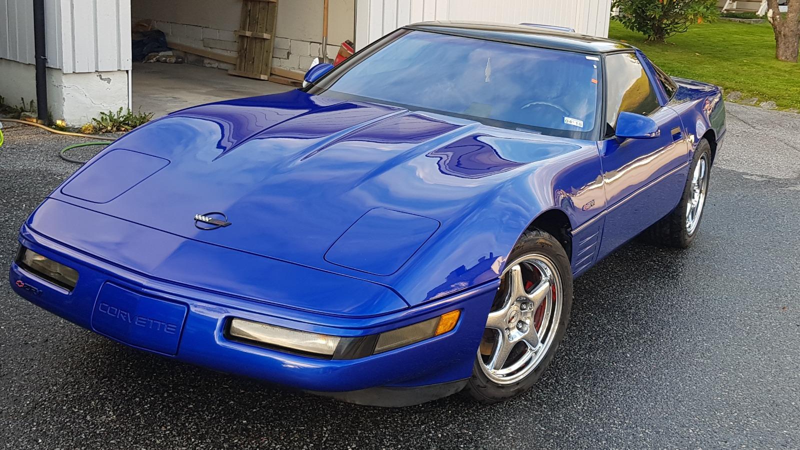 Ukas bil – 1994 Chevrolet Corvette ZR-1