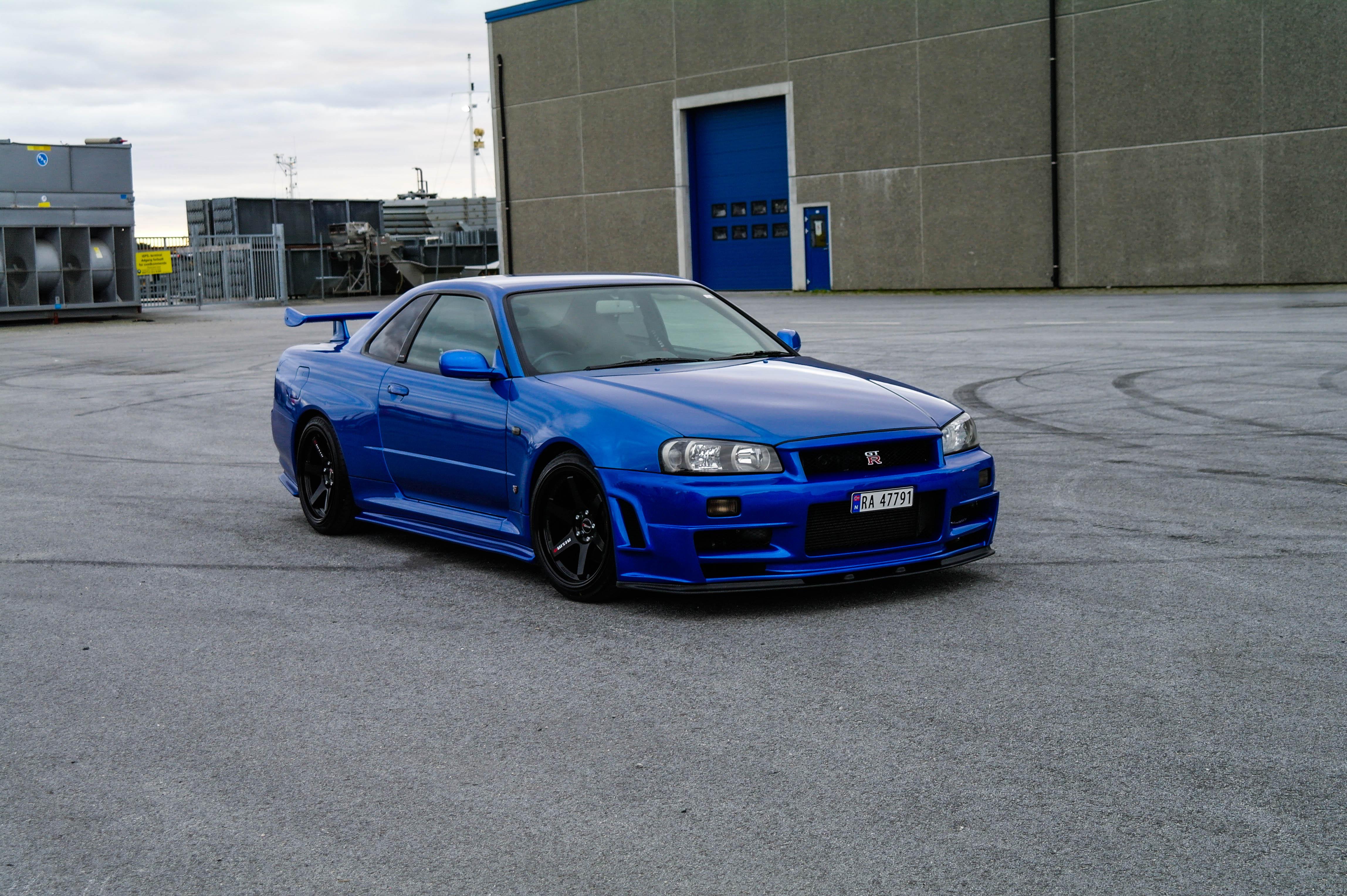 Ukas bil - 1999 Nissan Skyline GTR V-Spec