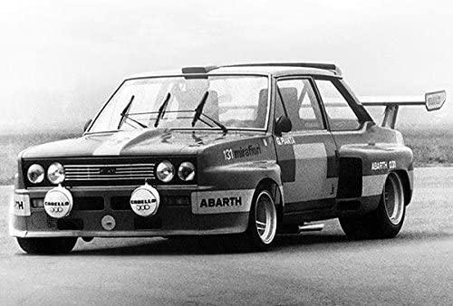 Denne brutale Gruppe 5-versjonen av 131 ble utført av Abarth i 1975