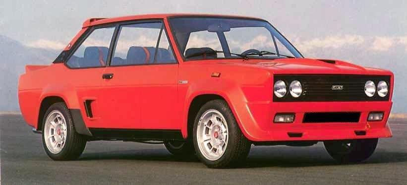 Gateversjonen av rallybilen het Abarth 131 Stradale og hadde 140 hk.