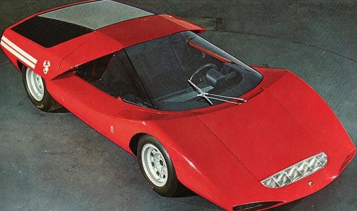 2000 Scorpione var et steintøft Abarth-konsept fra 1969.