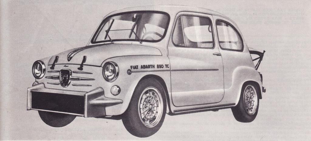 Fiat 600 kunne bli ekstremt brutal i Abarth sine hender, noe denne 850 TC beviser.
