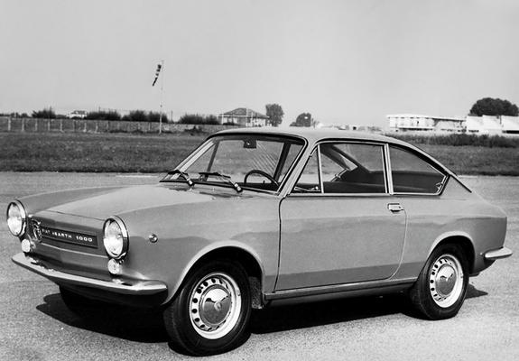 En Abarth OT 1000 Coupe, som tydelig viser Fiat-opphavet.