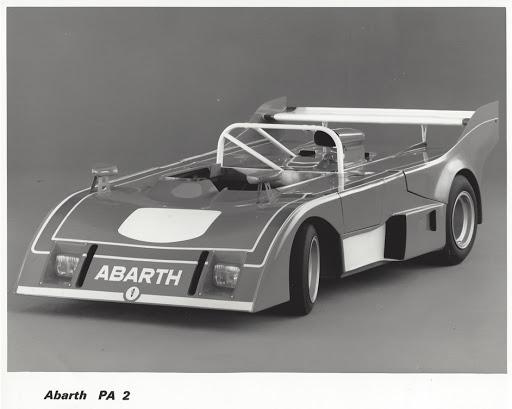 Racingteamet til Abarth ble kjøpt av Enzo Osella etter at Fiat tok kontroll over Abarth i 1971. De påfølgende bilene som Osella bygde ble derfor kalt Abarth-Osella, her en Abarth-Osella PA2 som ble introdusert i 1974.