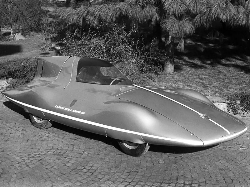 Denne Abarth 600 med Bertone-karosseri satte 17 internasjonale rekorder i 1956.