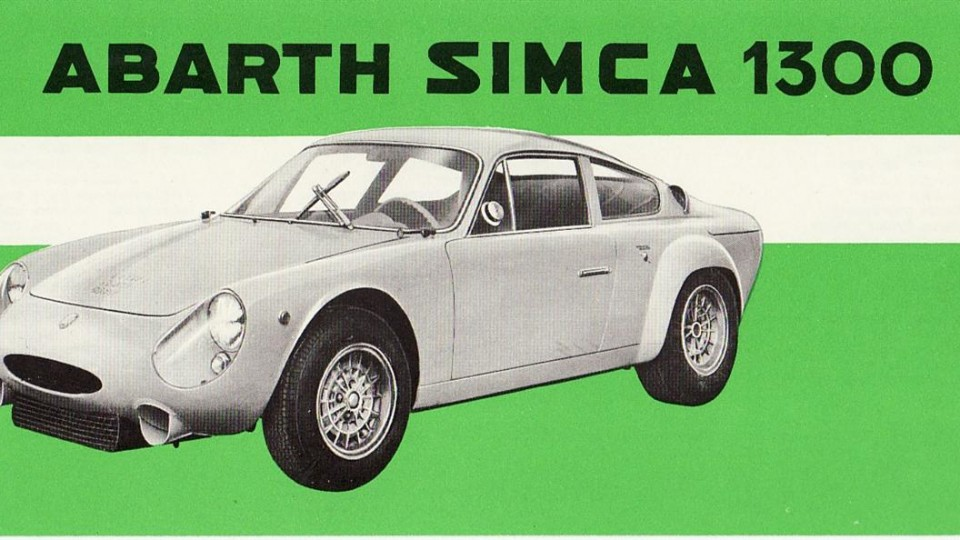 I samarbeid med Simca utviklet Abarth modellen Simca 1300, hvor 1-liters motoren ble oppborret til 1,3-liter.