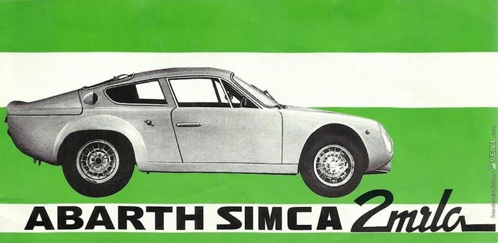 Samarbeidet med Simca førte til brutale Abarth Simca 2000, hvor motoren var oppborret til 2-liter, og ga 202 hk ved 7200 omdreininger. Takket være en vekt på 890 kg, kunne bilen gjøre 270 km/t.