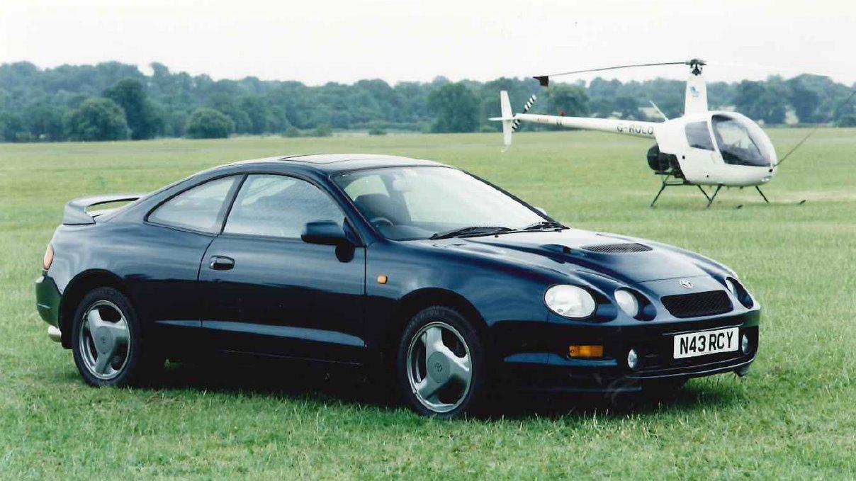 Sjette generasjon Toyota Celica ble produsert mellom 1993 og 1999