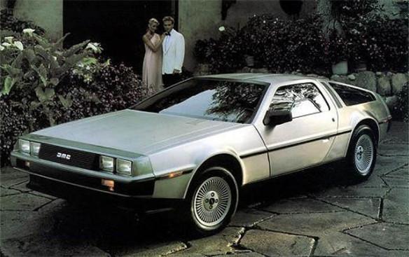 """DeLorean DMC-12 var en flopp kommersielt, men ble udødeliggjort og legendarisk gjennom filmene """"Back to the Future""""."""