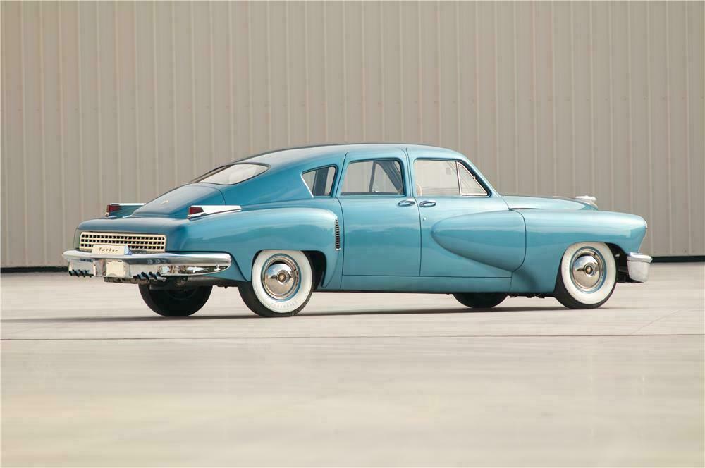 Tekniske løsninger og et sikkerhetsfokus det tok 20 år for de «tre store», Ford, Chrysler og GM, tok igjen. Derfor stakk de kjepper i hjulene og fikk stoppet Tucker fra å lage mer enn 51 biler. Filmatisert.