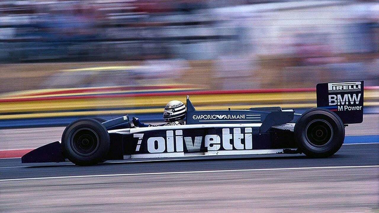 Brabham BT55 i 1986.
