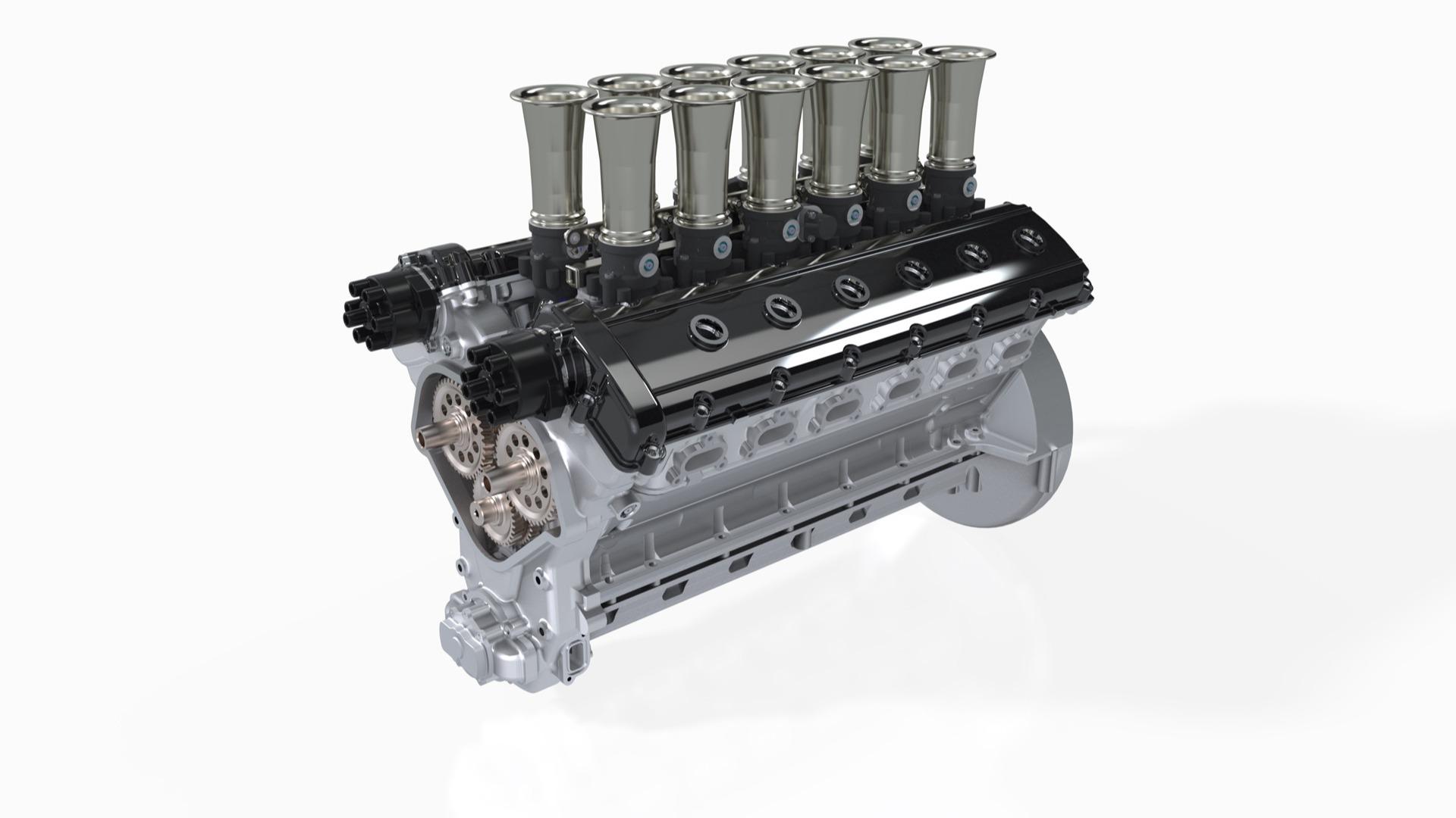 GTO Engineering 4-liters V12