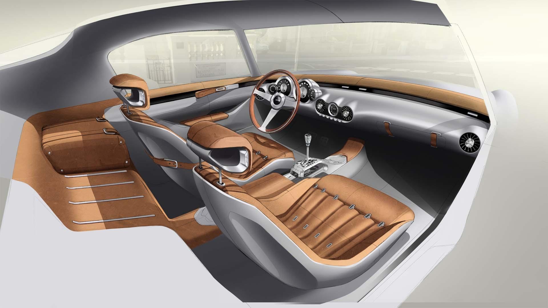 GTO Engineering Squalo interiør.
