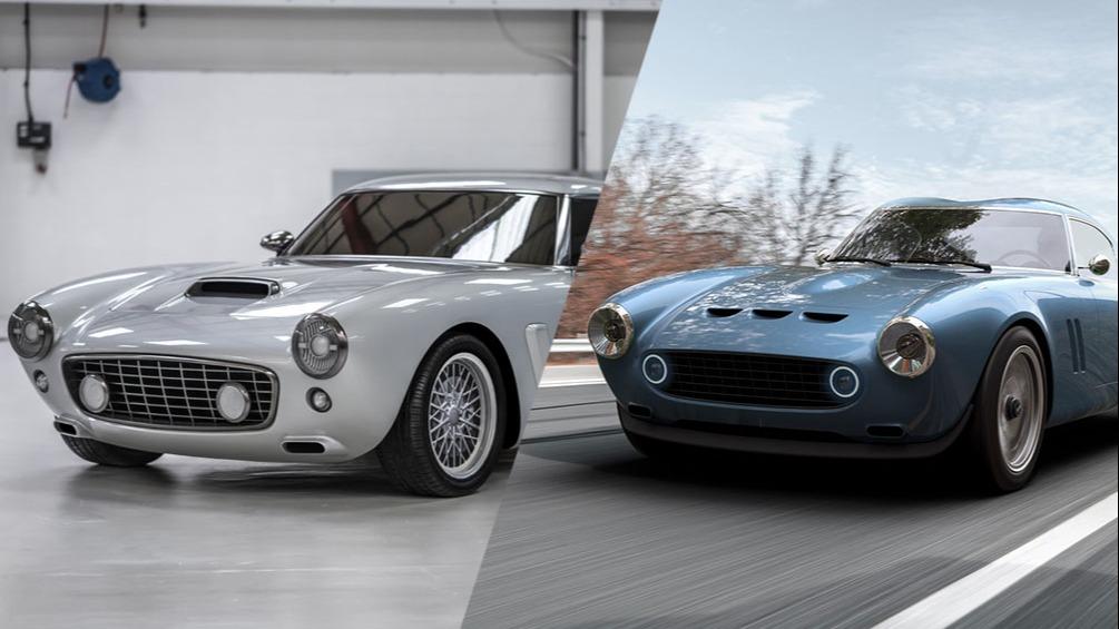 To deilige Ferrarier på vei